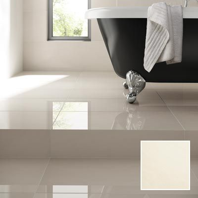 Arkesia Wall & Floor Tile White