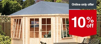 Stunning Garden Offers  Sheds  Storage  Wickescouk With Outstanding Selected Log Cabins With Beautiful Medina Gardens Also Windsor Garden In Addition  Seasons Garden Furniture And Plastic Garden Wagon As Well As How To Render A Garden Wall Additionally Alfold Garden Centre From Wickescouk With   Outstanding Garden Offers  Sheds  Storage  Wickescouk With Beautiful Selected Log Cabins And Stunning Medina Gardens Also Windsor Garden In Addition  Seasons Garden Furniture From Wickescouk