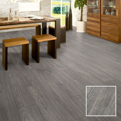 Everest grey oak laminate flooring