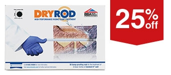 Dry Rods Damp Proof Course 180mm Pk10