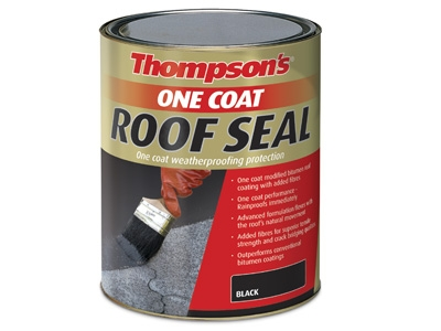 Thompsons one coat roof seal 5ltr blk
