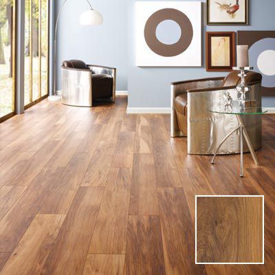 Madera light hickory laminate flooring