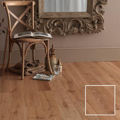 Montero oak real wood top layer flooring