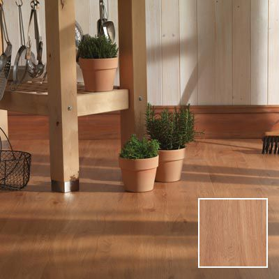 Huron oak luxury vinyl flooring