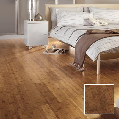 Tanned bamboo solid wood flooring