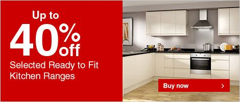 Selected Ready to Fit Kitchen Ranges