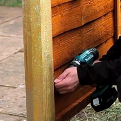 Erecting a fence