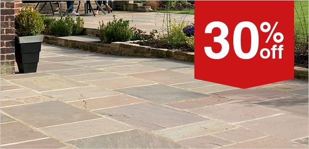 Indian Sandtstone Paving