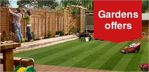 Offers on Sheds, Fencing and Woodcare