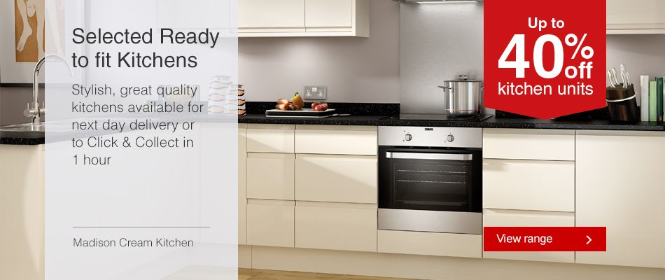 Ready to fit Kitchen offers