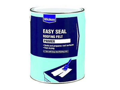 Wickes primer for easy seal roofing felt 5l