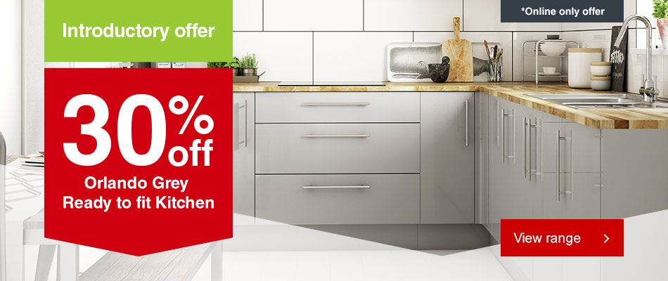 Ready to fit Kitchen offer
