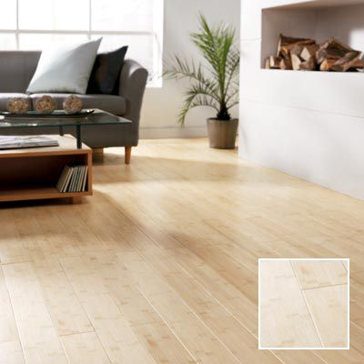 Natural bamboo solid wood flooring
