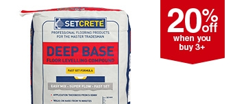 Setcrete Floor Levelling Compound