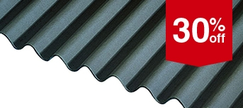 Black Bitumen Corrugated Sheeting