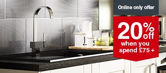 Selected Worktops, Sinks and Taps