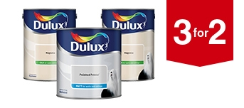 3 for 2 on Dulux Paint
