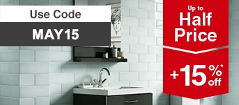 Up to Half Price on Tiles