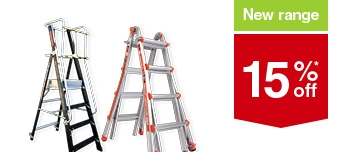 New Range 15% off selected Ladders