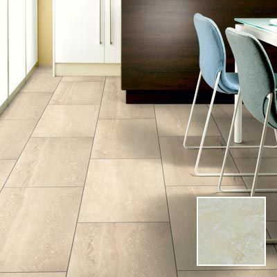Travertine Tile Effect Laminate Flooring