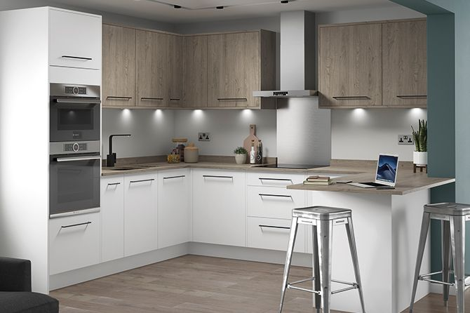 Eton Matt White Kitchen Range