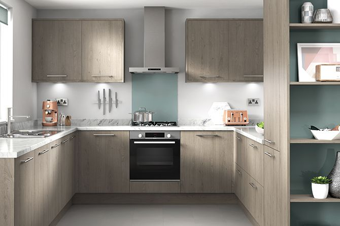 Richmond Grey Oak Kitchen Range