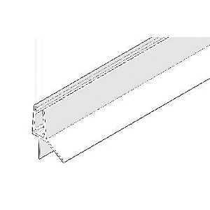 Aqualux Universal Bath/Shower Screen Bottom Seal 1000mm