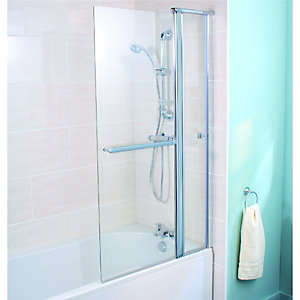 Wickes Rotating Two Panel Bath Screen