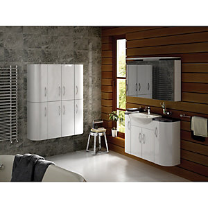 Innovative Bathroom Cabinets  Bathroom Furniture  Wickescouk