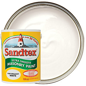 Sandtex Smooth Masonry Pure Brilliant White 5L