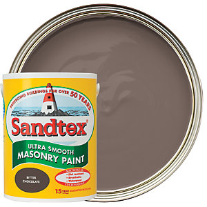 Sandtex Smooth Masonry Bitter Chocolate 5L