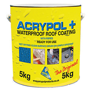 Acrypol + White Solar Reflective Waterproof Coating