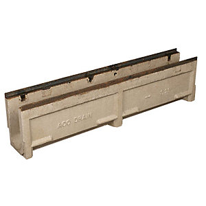 ACO Heavy Duty Recycled Polymer Concrete Drainage Channel Only 155mm x 161mm x 1000mm