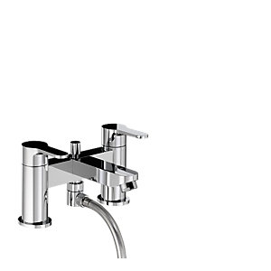 Abode AB1558 Debut Deluxe Deck Mounted Bath Shower Mixer With Shower Handset