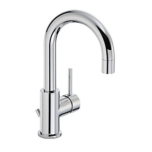 Abode AB1191 Harmonie Mono Basin Single Lever Mixer With Swan Spout Chrome