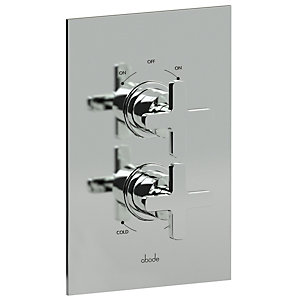 Abode AB2218 Serenitie Concealed Thermostatic Shower Mixer Dual Exit