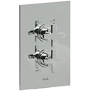Abode AB2206 Serenitie Concealed Thermostatic Shower Valve 1 Exit