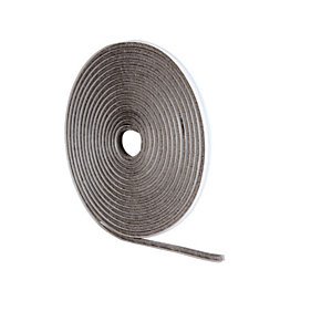 Wickes Pile Tape Draught Seal Grey 5m