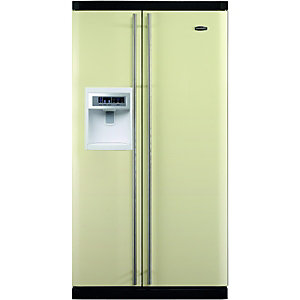 Rangemaster Side by Side American Type Fridge Freezer Stainless Steel