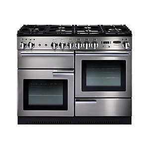 Rangemaster Professional Plus 110 Gas Cooker Stainless Steel