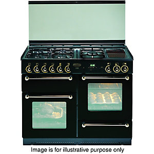 Rangemaster 110 Natural Gas Cooker FSD Black