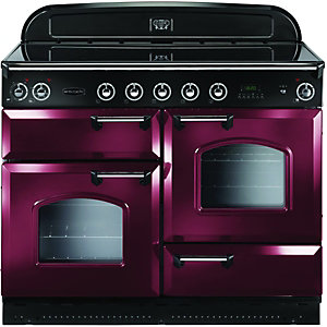Rangemaster 87560 Classic 110 Induction Cranberry
