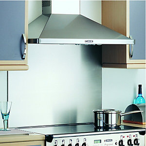 Rangemaster Splashback No Badge Stainless Steel 1100mm
