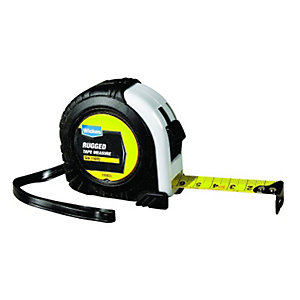 Wickes Heavy Duty Rugged Tape Measure 5m