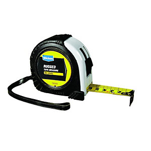 Wickes Heavy Duty Rugged Tape Measure 8m