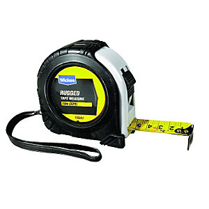 Wickes Heavy Duty Rugged Tape Measure 10m