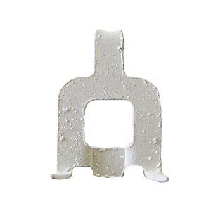 Fischer Fast and Fix Mirror/Picture Hanging Clip White