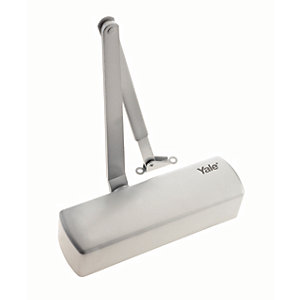 Yale P2002 Challenger Door Closer Silver