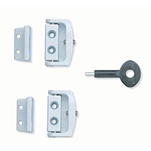 Yale P-2P113-WE-2 Window Toggle Lock Pack 2 White
