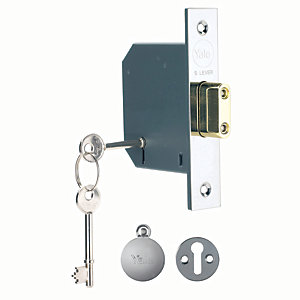 Yale P-M552-CH-65 5 Lever Deadlock 64mm Chrome